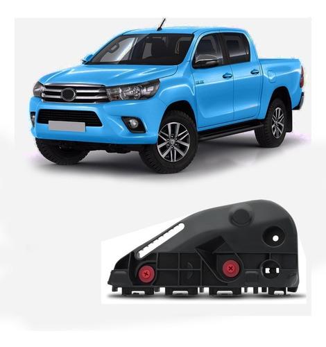 Soporte De Paragolpe Delantero Izquierdo Toyota Hilux 2016 /