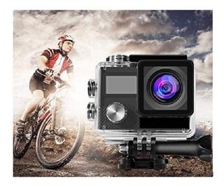 Sport Action Camara 4k 2 Lcd Deportes Bicicleta Wifi