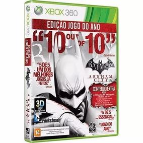Batman: Arkham City Edição Jogo Do Ano Xbox 360 Original