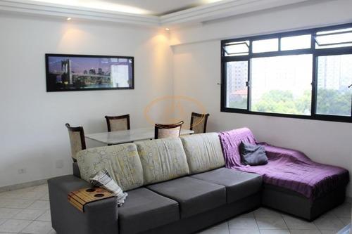Apartamento  Com 2 Dormitório(s) Localizado(a) No Bairro Vila Mathias Em Santos / Santos  - 6243