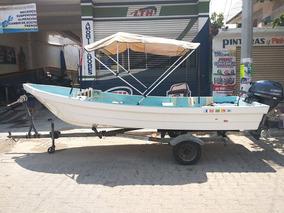 Lancha Embarcacion Argos 16 Pies Motor Yamaha 25hp