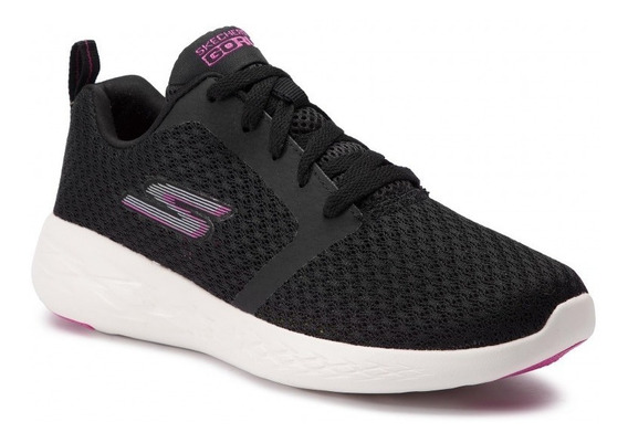 Skechers Zapatillas Running Mujer Go Run 600 Circulate Negro