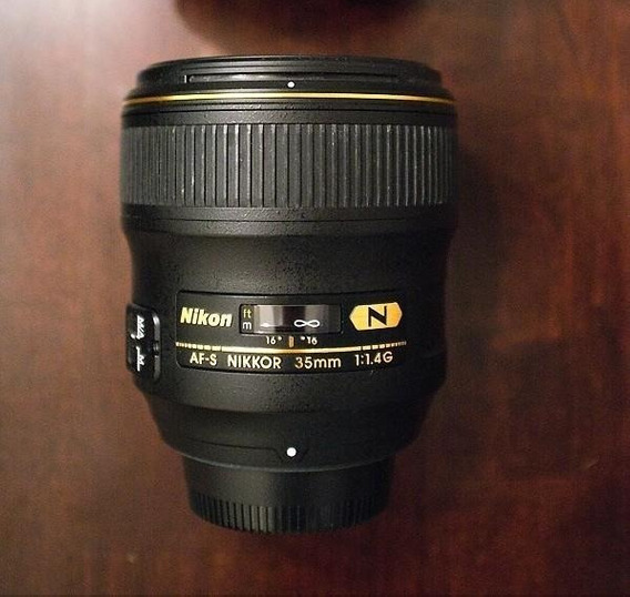 Lente Nikon 35mm F/1.4 G Nano