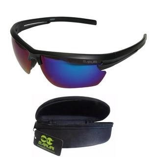 Óculos Pesca Maruri® Polarizado Espelhado Anti-reflexo #6624