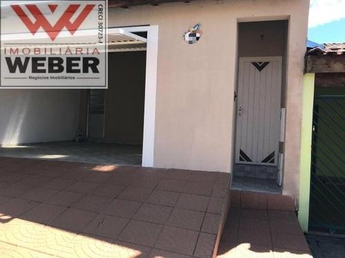 Casa 3 Dorm, 1 Suíte, 110 M² Á Venda Por 345.000,00 Wanel Ville - 611