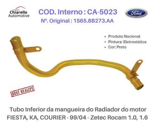 Tubo Radiador Fiesta Ka Courier  Zetec Rocam 1.0, 1.6.