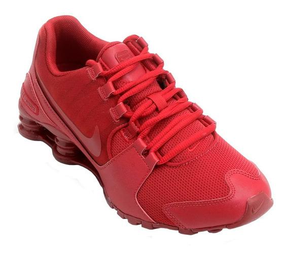 Tênis Nike Shox Avenue Vermelho Original Tam. 40