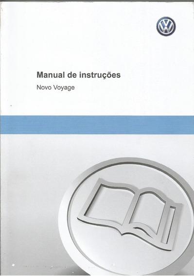 Manual Proprietário Novo Voyag G6 2016 Kit Completo Em Branc