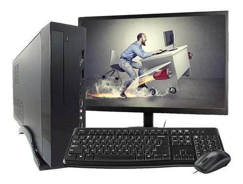 Imagem 1 de 1 de Computador Completo Intel Core I3 8gb Ssd120gb Monitor Hdmi