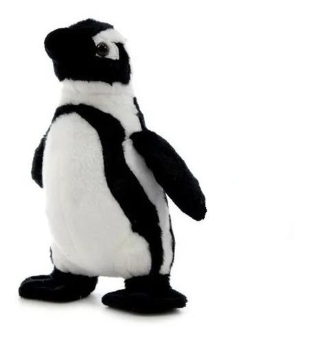 Peluche Animal Pingüino Real Parado 20 Cm.