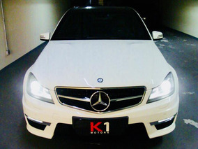 Mercedes-benz Classe C 6.3 Amg 4p Branca Extremamente Nova