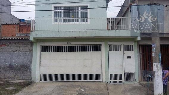 Sobrado Residencial À Venda, Jardim Rosana, Ferraz De Vasconcelos. - So0047
