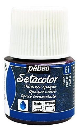 Imagen 1 de 1 de Pebeo Setacolor Pintura Opaca De Tela Botella De 45 Mililitr