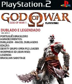 Patch God Of War 1 Dublado E Legendado Ps2