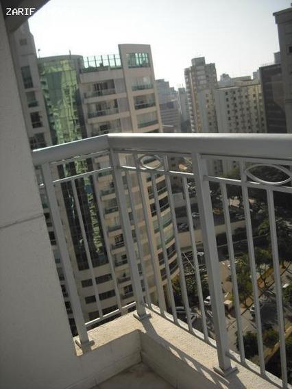 Apartamento Para Locação Em São Paulo, Jardins, 2 Dormitórios, 1 Banheiro, 1 Vaga - Zzaldk44