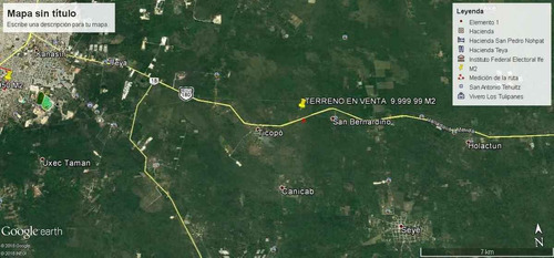 Imagen 1 de 4 de Carretera Merida-cancun (seye) Terreno De 9,999.94 M2  ( Se