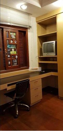 Imagem 1 de 1 de Sobrado Com 4 Dormitórios À Venda, 550 M² Por R$ 2.600.000,00 - Vila Lusitânia - São Bernardo Do Campo/sp - So2378