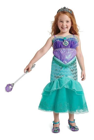 Disfraz Ariel Disney Store Original Sirenita