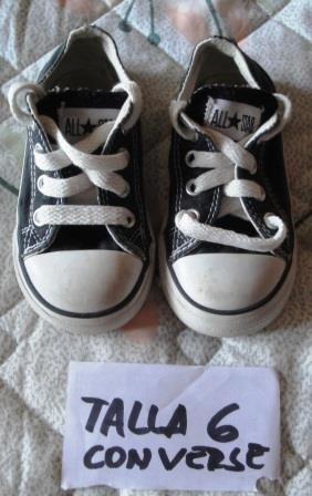 Zapatos De Niño Converse Originales Talla 6