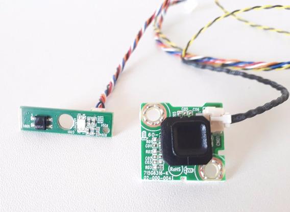 Kit Cabo Lvds Flat Botão Sensor Ir Alto Falantes Le32d1352