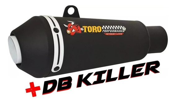 Escape Toro T-1 Cb 250 Twister 2016/... Black/branco+ Db Kil