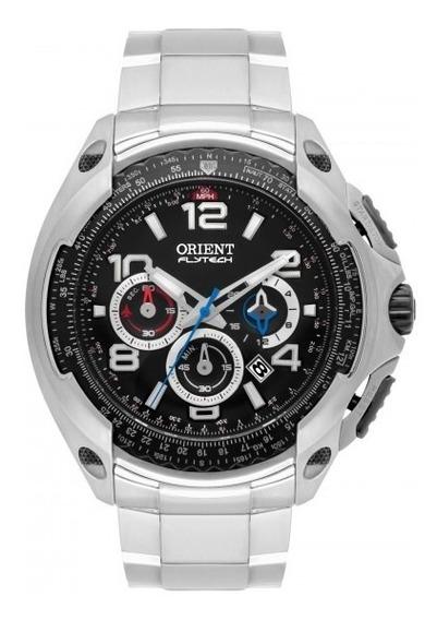 Relógio Orient Mbttc015 P2gx Flytech Preto Titânio- Refinado