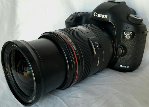 Canon 5d Mark Lll Lente Canon 24 70 F1.8