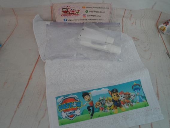 5 Kit Higiene Bucal Patrulha Canina
