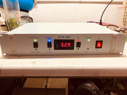 Imagen 1 de 4 de Cargador Baterias 48 Voltios Inteligente, 10 Amp Para Ups