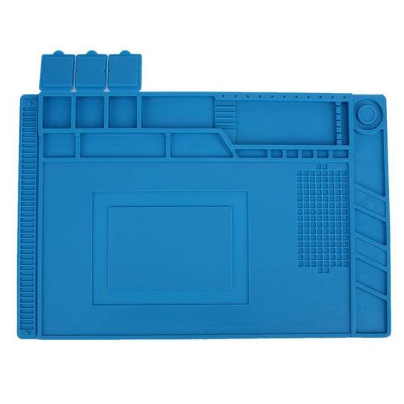 Manta Magnética Antiestática Silicone Azul S-160 G 300x45