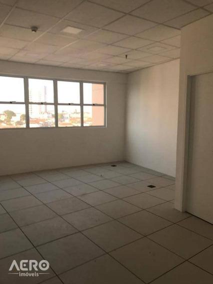 Sala Comercial Para Locação, Vila Santo Antônio, Bauru. - Sa0095