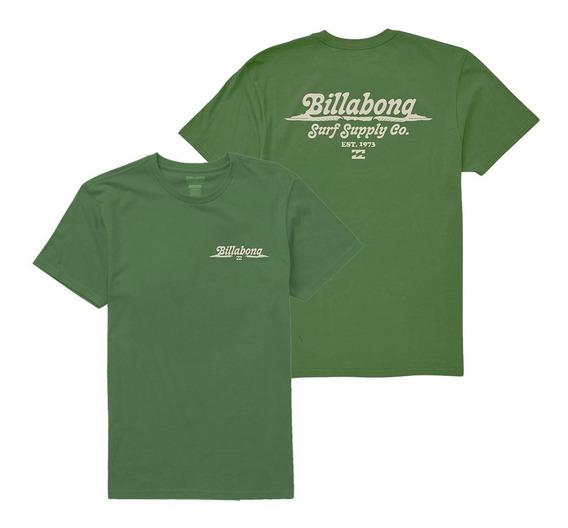 Remera Billabong Splitpeak Tee Green Hombre 11107034