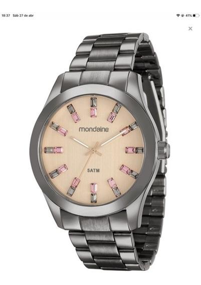 Relógio Mondaine Feminino Rosa 78663lpmvsa8