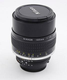Nikon 105 1.8 Ais Impecable !!!