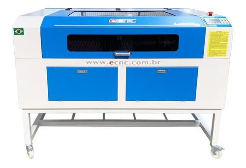 Máquina De Corte E Gravação A Laser Ecnc L-1210 Nacional