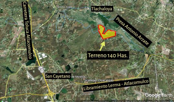Vendo Terreno En Tlachaloya