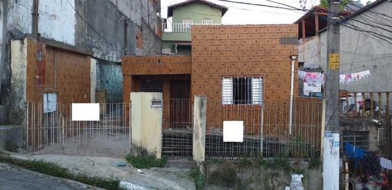 Terreno Para Venda Em São Paulo, Cangaiba, 1 Dormitório, 1 Banheiro, 1 Vaga - 2522