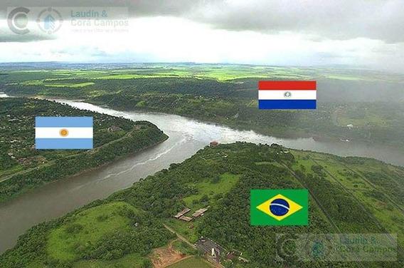 Se Vende 26.5 Hectáreas Sobre El Rio Paraná- Puerto Iguazu Misiones. Cataratas Del Iguazú.