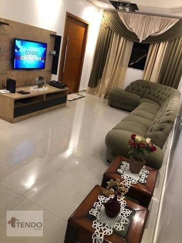 Imagem 1 de 16 de Imob01 - Sobrado 226 M² - Venda - 3 Dormitórios - 1 Suíte - Jardim Beatriz - São Bernardo Do Campo/sp - So0249