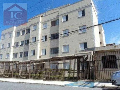 Apartamento Com 2 Dormitórios À Venda, 58 M² Por R$ 210.000 - Jardim Rosalina - Cotia/sp - Ap0421