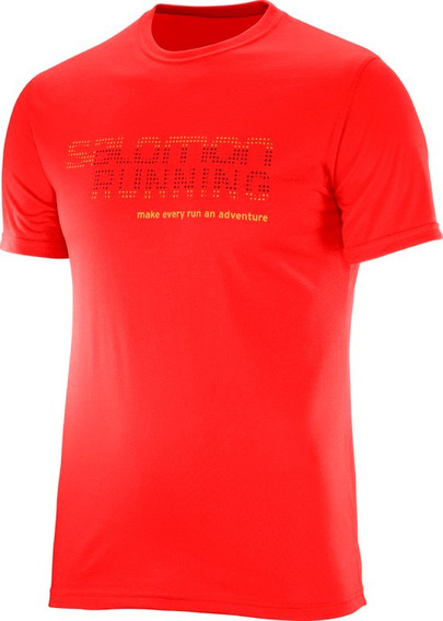 Remera Salomon - Running Graphic Tee- Hombre - Running