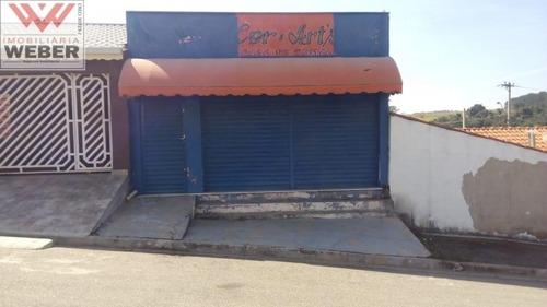 Imagem 1 de 8 de Salão Comercial,50 M² No  Para Locação Por R$ 1.000,00 Jd Morada Das Flores - 901
