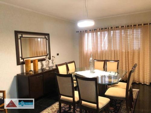 Imagem 1 de 22 de Sobrado Com 3 Dormitórios À Venda, 260 M² Por R$ 2.700.000,00 - Jardim Anália Franco - São Paulo/sp - So1372