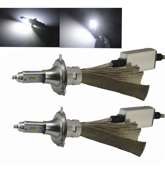 Kit Ultra Led H4 8000k 100w 12v Aluminio 16000 Lumens