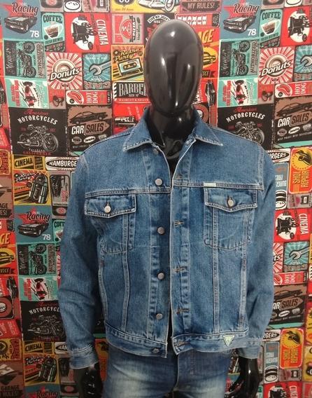 Jaqueta Jeans Guess Tam P Original Seminova