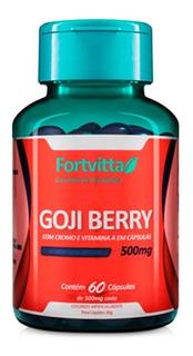 Goji Berry - 60 Cápsulas - Fortvitta