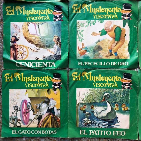 El Musicuento Colección Viscontea 9 Vinilos Cuentos Infantil