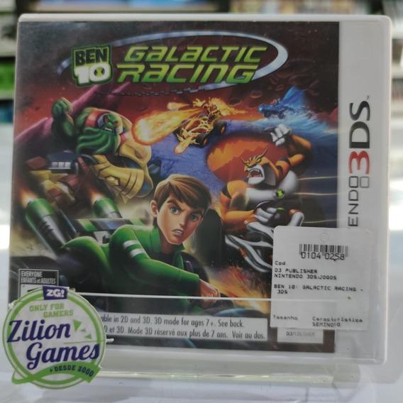 Ben 10 Galactic Racing Nintendo 3ds - Completo