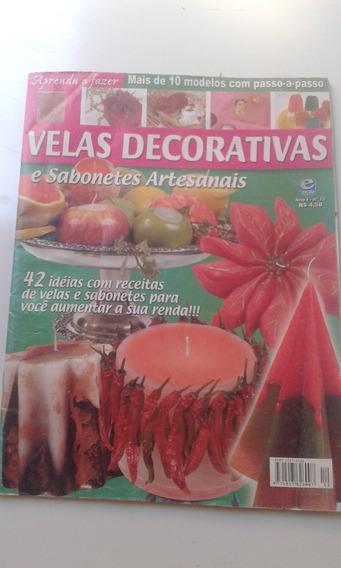 Revista - Velas Decorativas E Sabonetes Artesanais - 12
