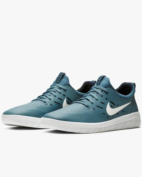 Zapatillas Nike Sb Nyjah Free Verde Importadas 100% Original
